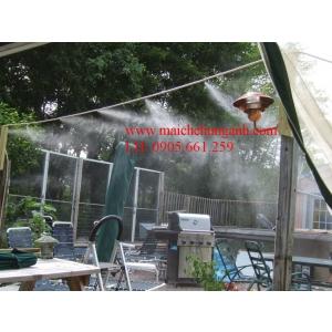 Hệ thống phun sương làm mát Bình Định